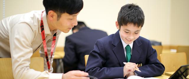 中学生コース:個別指導科の様子1